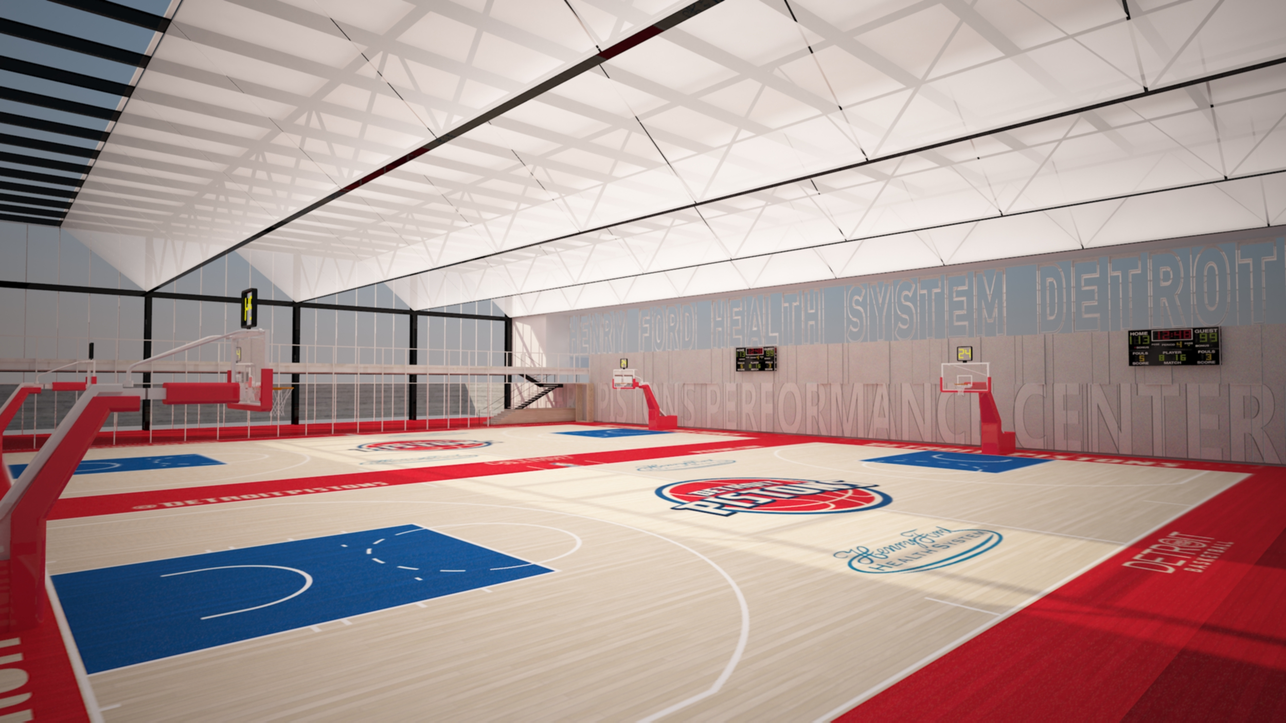 Detroit Pistons Release Plans For New Practice Facility