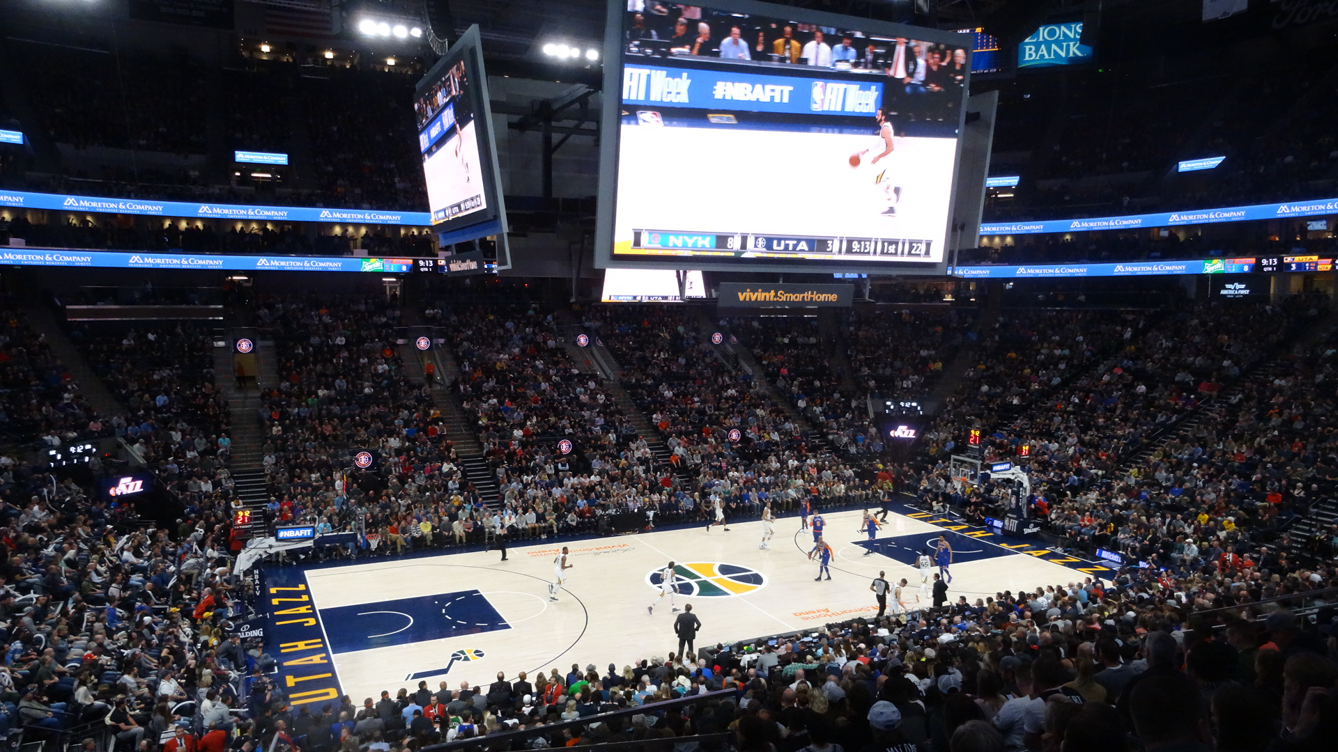 1a85ee591 Take Note  Utah Jazz Transform Vivint Smart Home Arena - Arena Digest
