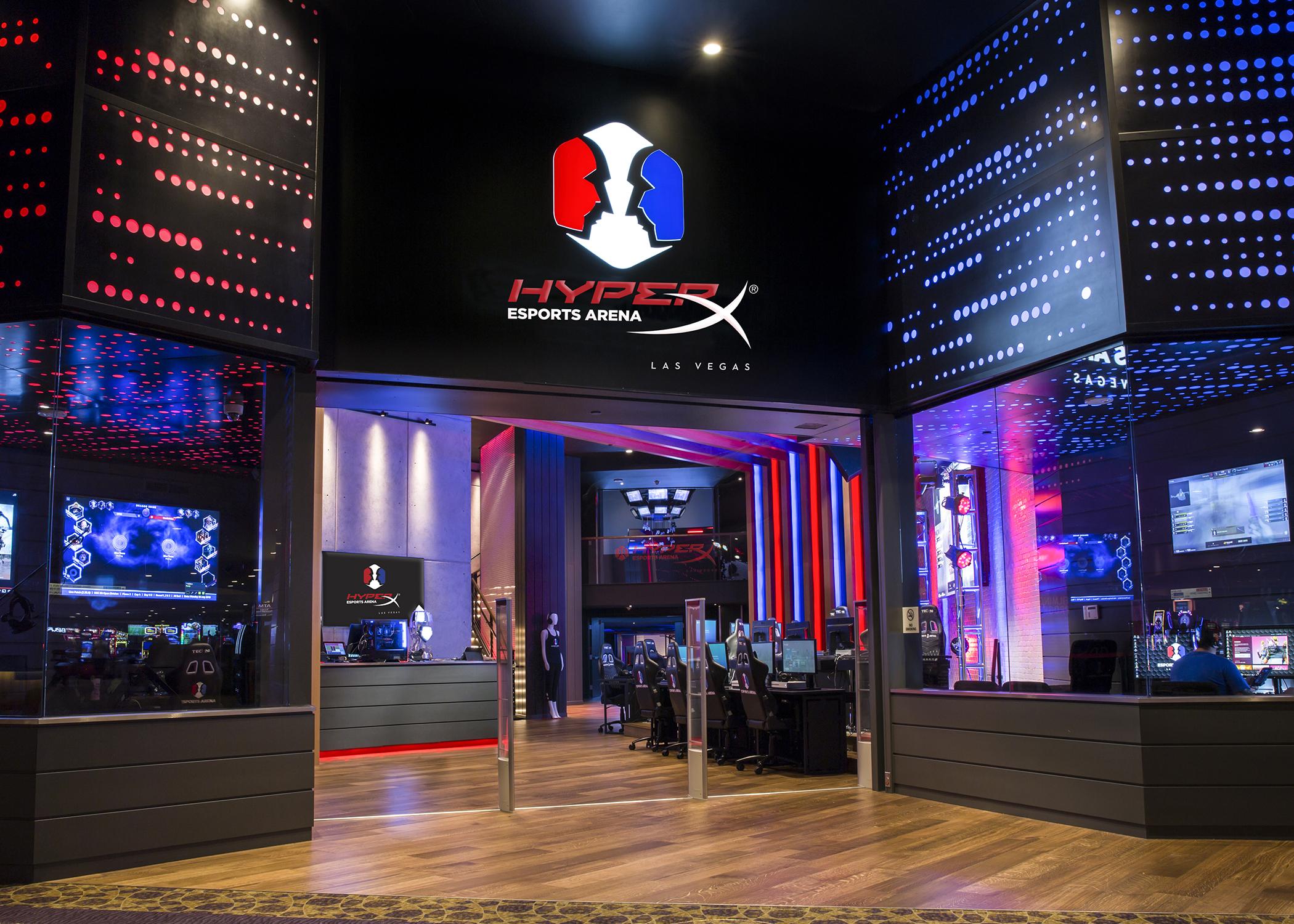 New for 2018: HyperX Esports Arena Las Vegas - Arena Digest