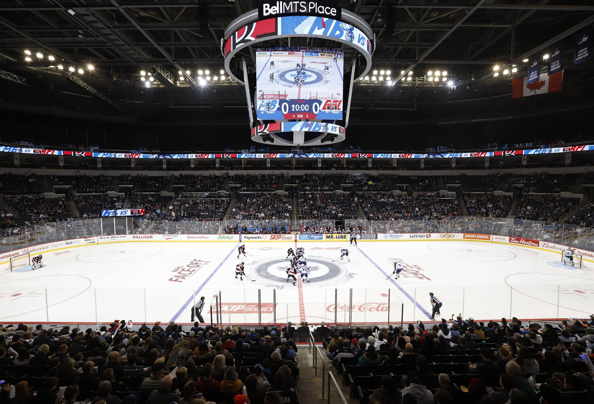 Ahl Teams In Nhl Arenas Major Stages For The Minor Leagues Arena