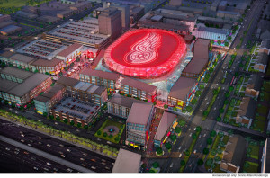 Red Wings arena plans