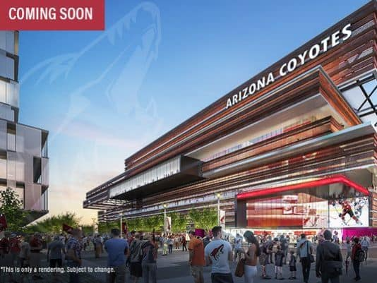 Proposed Arizona Coyotes arena