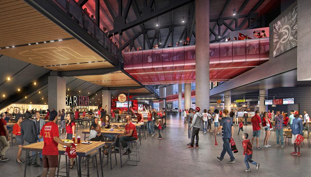 HawkWalk, Philips Arena renovations