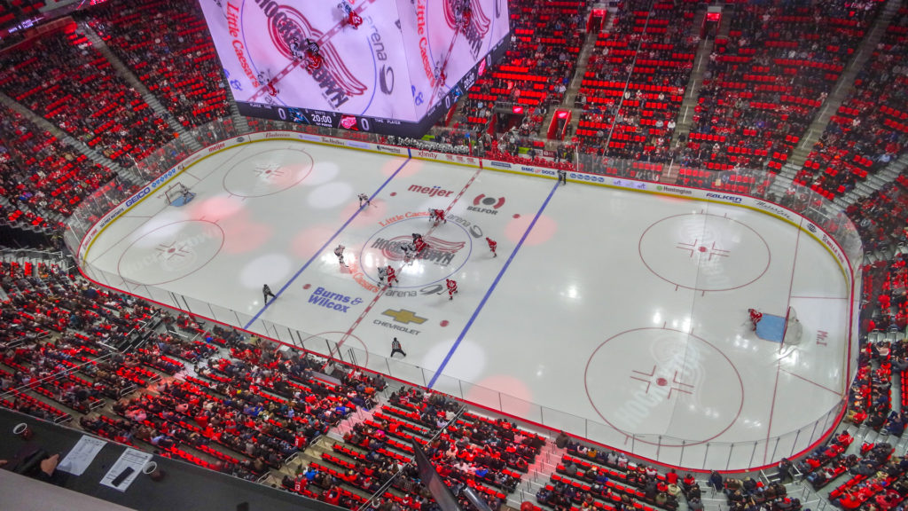 Shared Nba Nhl Arenas In 2018 19 Arena Digest