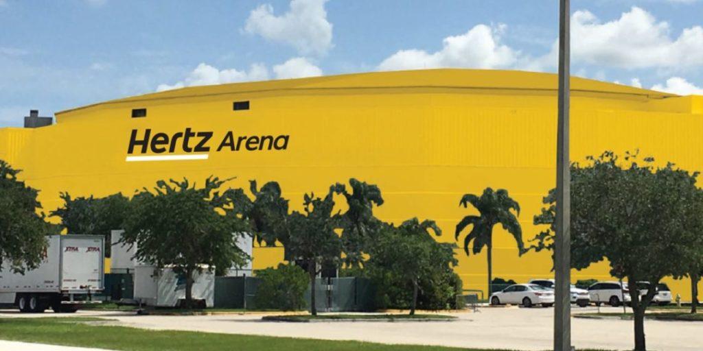 Hertz Arena rendering
