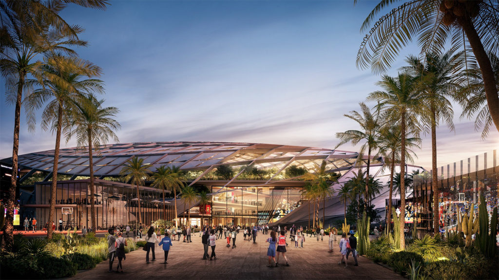 New L.A. Clippers arena