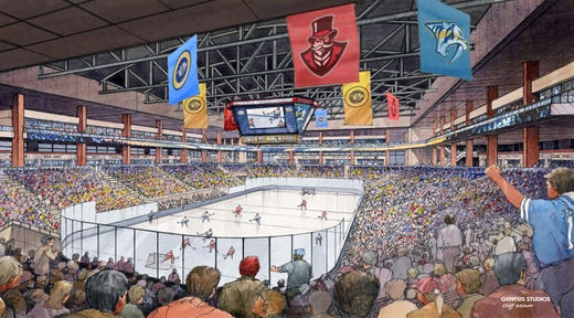 Proposed Clarksville Arena