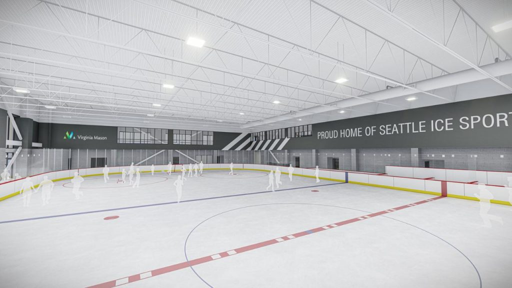NHL Seattle Ice Centre rendering